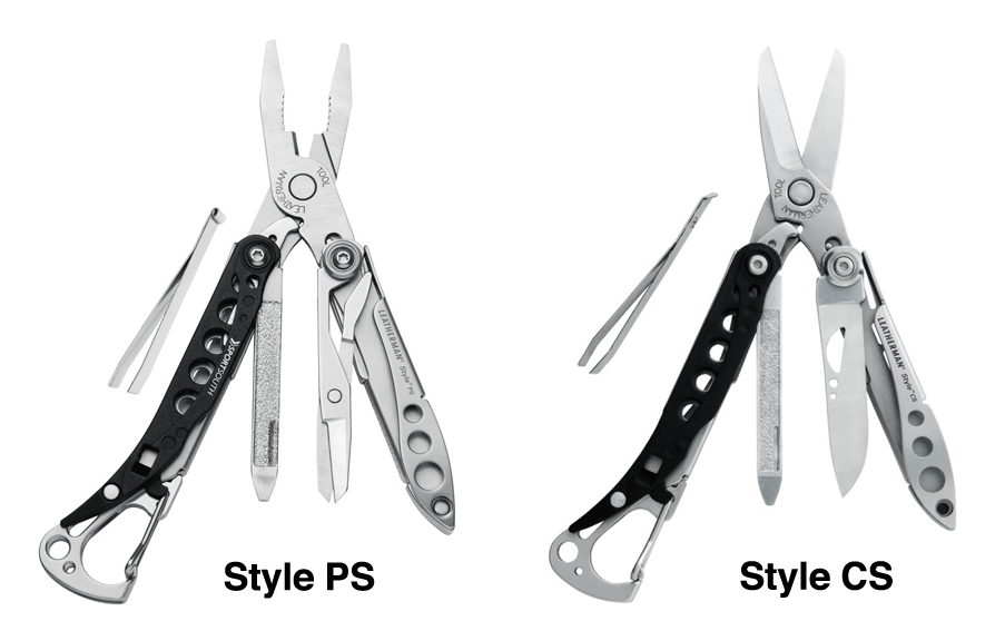 Leatherman offers excellent ultralight multi-tool option: Style CS / PS